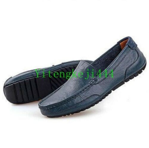 Leather Chic Casual SLIP-ON Loafers Moc shoes Men Business Driving Shoes New Hot