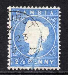 Gambia-2-1-2-D-FRANCOBOLLI-c1886-93-usati-77