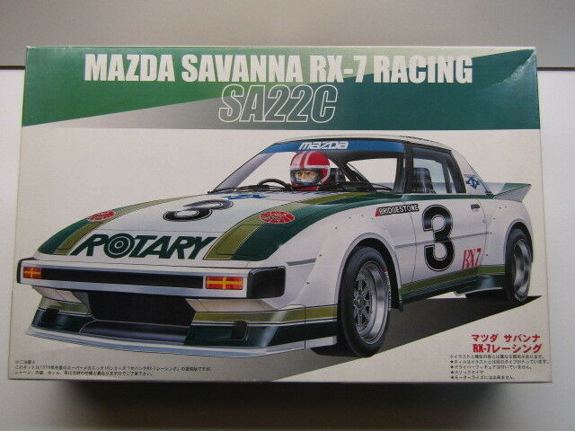 Fujimi 1 24 Scale Mazda RX-7 SA22C Savannah Racing Model Kit - New