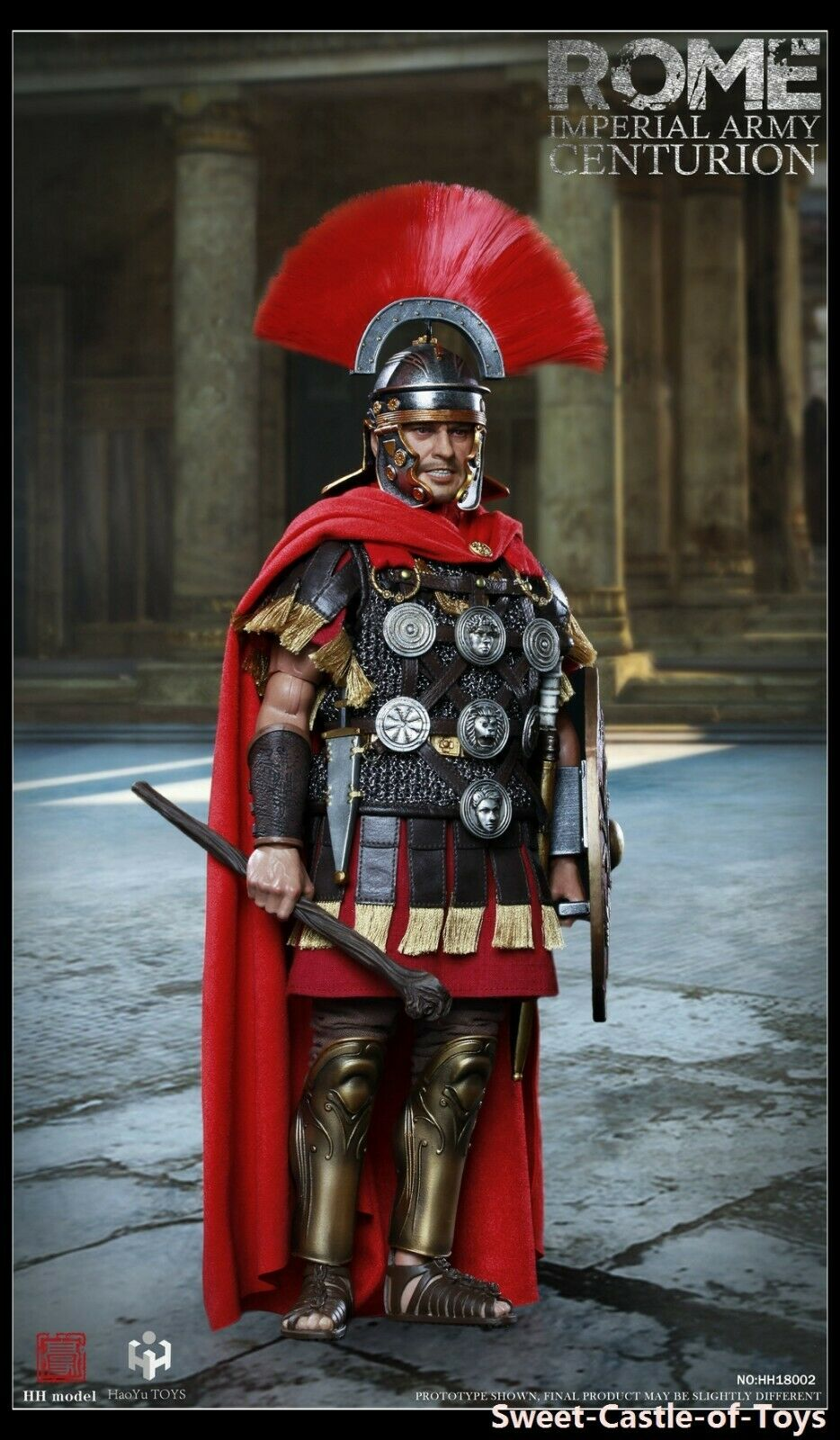 1 6 HH Model X HaoYuToys Action Figure - Rome Imperial Army Centurion HH18002