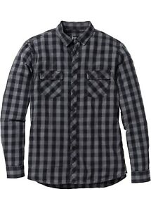 Herren-Hemd-Langarm-Kariert-Shirt-Arbeit-Regular-Fit-Freizeit-Gr-37-38-NEU