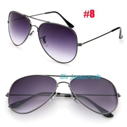 Womens Pilot Sunglasses Retro Shades Mens Designer Eyewear Classic UV400 Glasses