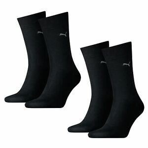 Puma-Men-039-s-Socks-Classic-Casual-Business-4-Pair-Various-Colours