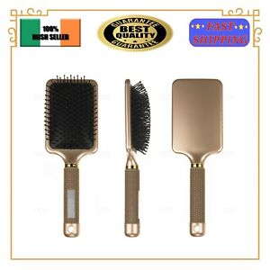 Large Paddle Brush Hair Care Spa Massage Tangle Free Cushion Hairbrush Comb