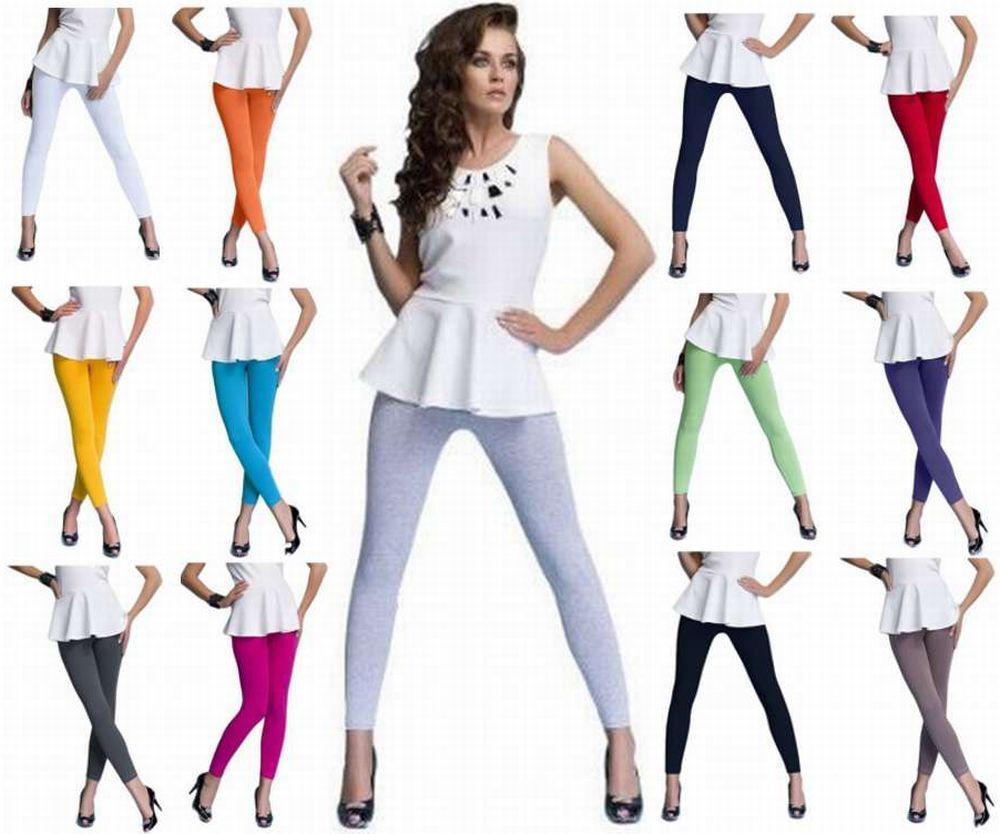 2 X Legging Coton Sport Fitness Yoga Danse Loisirs Pantalon Respirant Pantalon