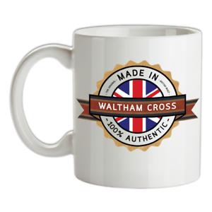 Made-in-Waltham-Croce-Mug-Te-Caffe-Citta-Citta-Luogo-Casa