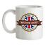 Made-in-Waltham-Croce-Mug-Te-Caffe-Citta-Citta-Luogo-Casa miniatura 1