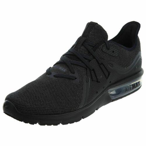 Hommes de Nike Max Chaussures 3 010 Sequent Nouveau Air 921694 course Noir Anthracite n8Pk0wO