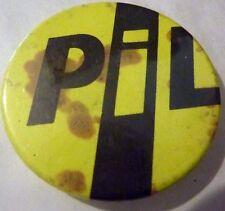 """PUBLIC IMAGE LTD"""" Vintage 70/80`s Button Pin Badge(25mm-1"""")PUNK"""