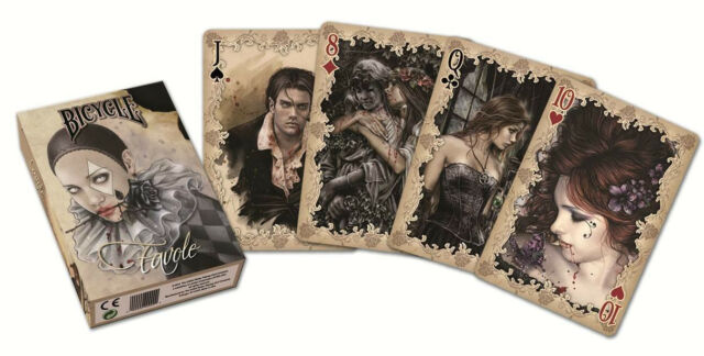Bicycle Favole Playing Cards Collectible Victoria Frances Gothic Underworld Deck