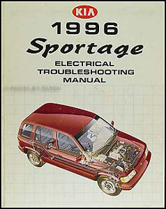 Image Is Loading 1996 Kia Sportage Electrical Troubleshooting Manual Wiring Diagram