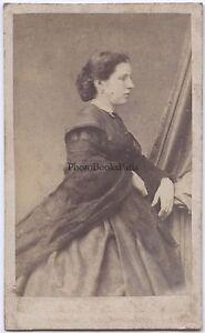Anonimo Primitivo Parigi Second Empire Francia CDV Vintage Albumina Ca 1860