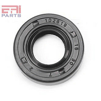 EAI Oil Seal TC 15X30X7 Rubber Double Lip with Spring 15mmX30mmX7mm