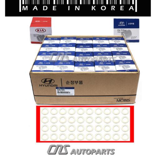Oil Filter /& Washers 40pcs GENUINE OEM for 86-17 Accent Elantra Santa Fe Sonata