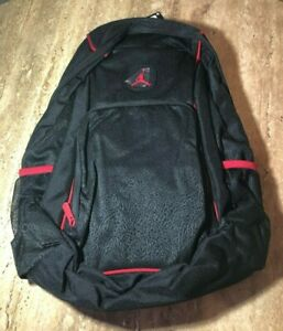 c06a0c0427 Nike Air Jordan Jumpman Legacy Elite Backpack Black Gym Red - 9A1456 ...