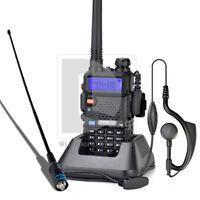 Baofeng UV-5R VHF+UHF Dual Band Ham Two Way Radio  Handheld Tranceiver+Antenna