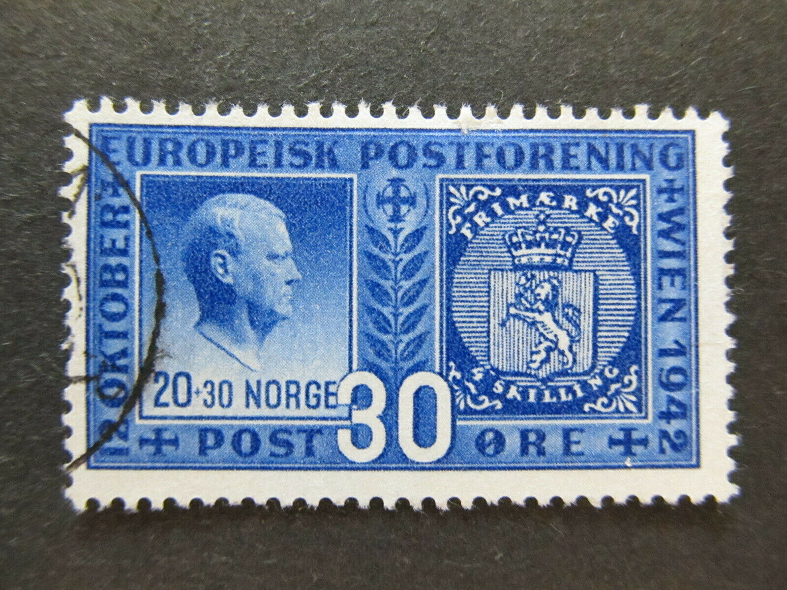 A5P29F116 Norway 1942 30o used