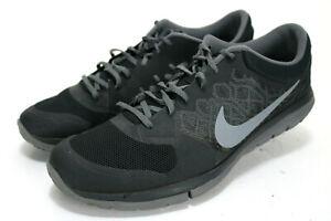 Nike-Flex-Run-2015-Men-039-s-Running-Shoes-Size-15-Black