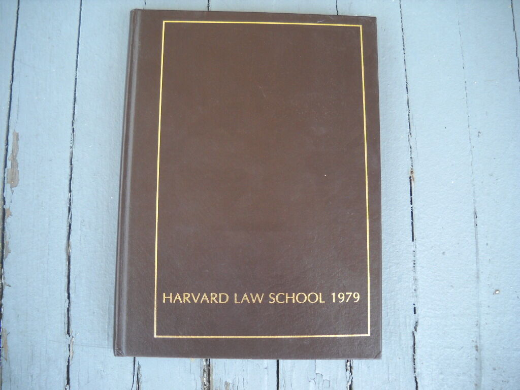 Vintage 1979 Harvard Law School College Yearbook 2