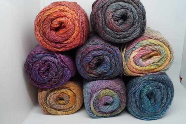 Fb 108 150 g Wolle Kreativ Lana Grossa Meilenweit Rainbow 150
