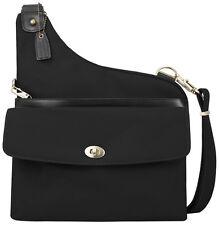 Travelon Bags Anti-Theft LTD Crossbody Handbag Purse - Black