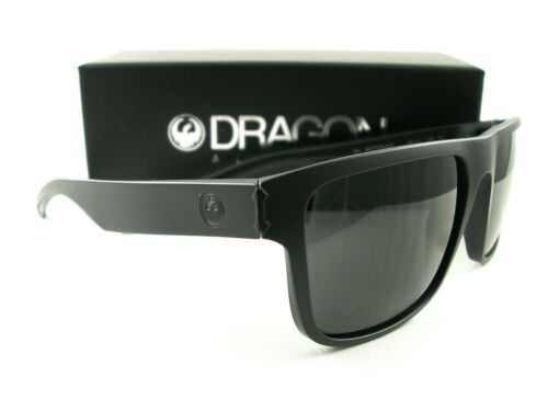 Dragon Alliance Sunglasses Inflector Matte Black Smoke Authentic New