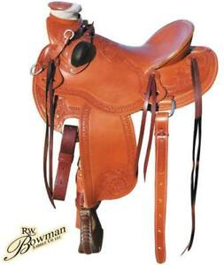 Western saddle Mike Branch Wade Bowman
