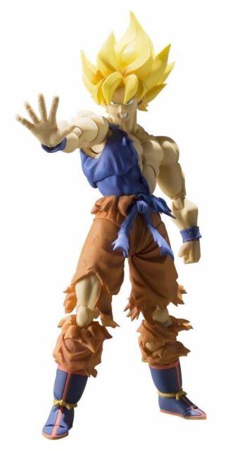 S. H. Figuarts Dragon Ball Z Súper Saiyan Son Goku Awakening Ver Bandai Japón