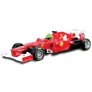 1-32-F10-e-F2012-BBURAGO-FERRARI-132-scederia-auto-modello-IN-SCALA-F1-ASS