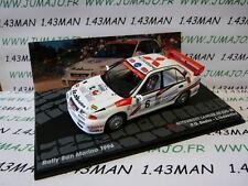 voiture 1/43 IXO Altaya rallye : MITSUBISHI Lancer RS EVO III San Marin 1996 #6