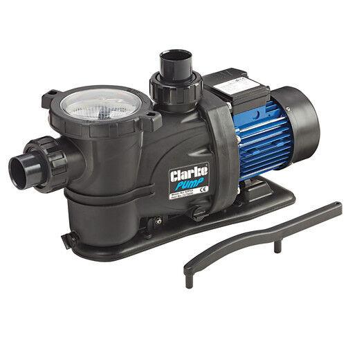 Clarke SPP10 1 hp 750W Schwimmbad Pumpe Max. Durchfluss 366 L/Min Kopf 15m 230V