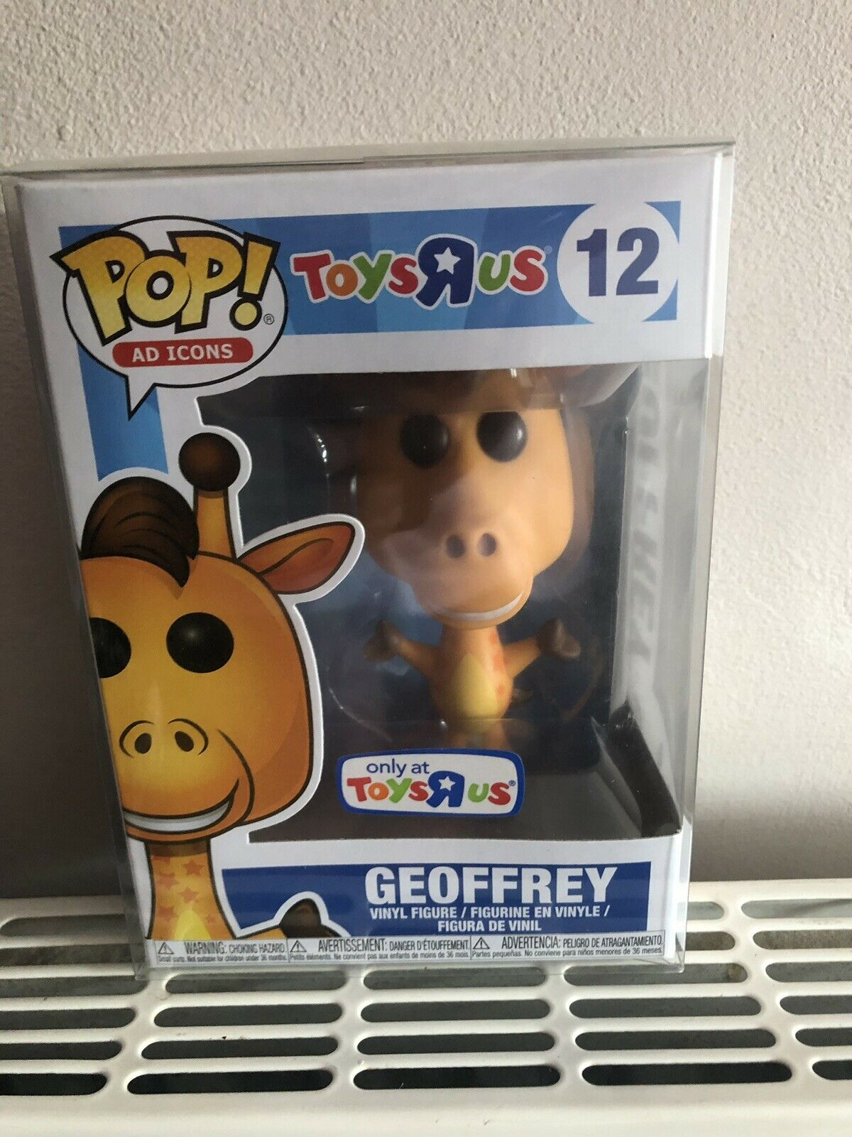 Funko POP Vinyl Geoffrey 12 Toys R Us