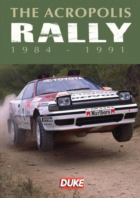 The Acropolis Rally 1984 - 1991 (DVD, 2013)