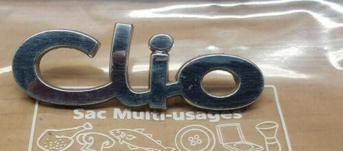 logo monogramme sigle embleme lettrage RENAULT CLIO