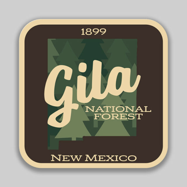 Gila National Forest Decal Sticker Explore Wanderlust