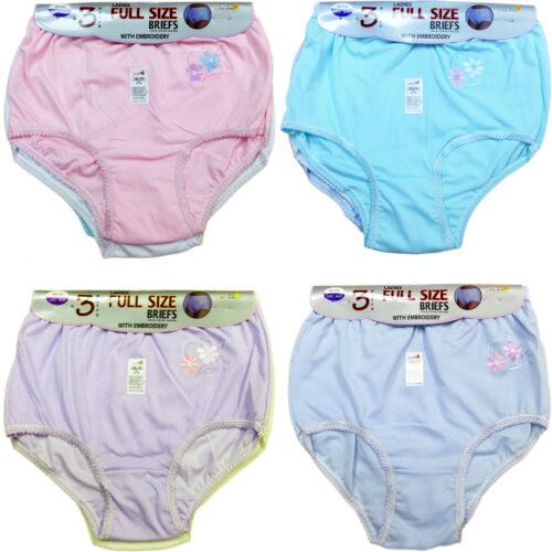 12 paire Mesdames femmes complet mama briefs cotton underwear Slips Culottes pastel