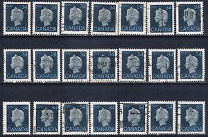 Canada-926-2-1985-34-cent-dark-blue-Queen-Elizabeth-II-21-Used-CV-4-20