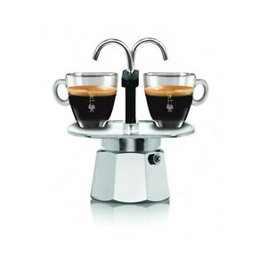 bialetti mini express 2 cups moka coffee maker miniexpress italian espresso 8006363019088 ebay. Black Bedroom Furniture Sets. Home Design Ideas
