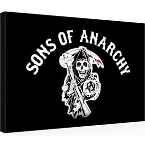 Leinwandbild 30 x 20 SONS OF ANARCHY SOA T-Shirt 1-7 DVD Weste Jacke (1307201)