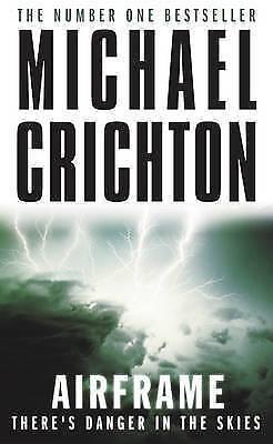 1 of 1 - Airframe, Michael Crichton | Paperback Book | Acceptable | 9780099556312