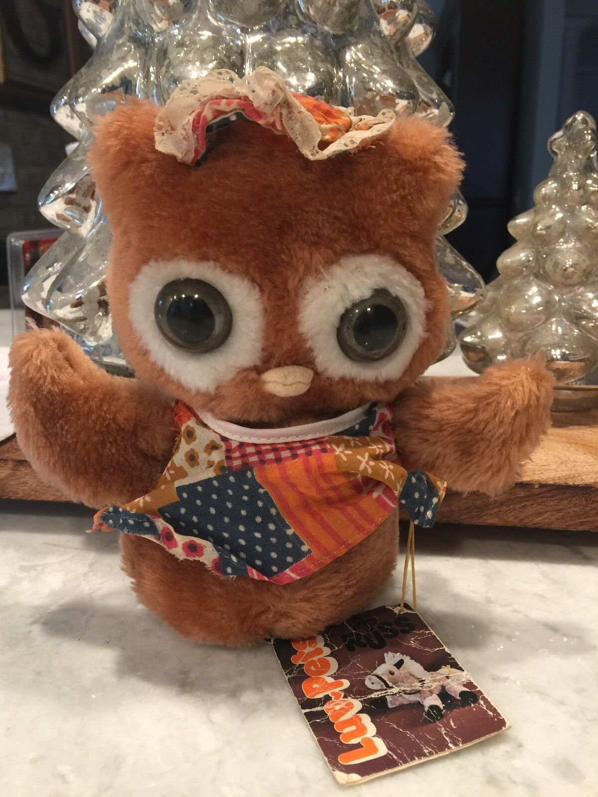 VINTAGE 1978 RUSS BERRIE & CO OOLA THE OWL PLUSH W/ Tag
