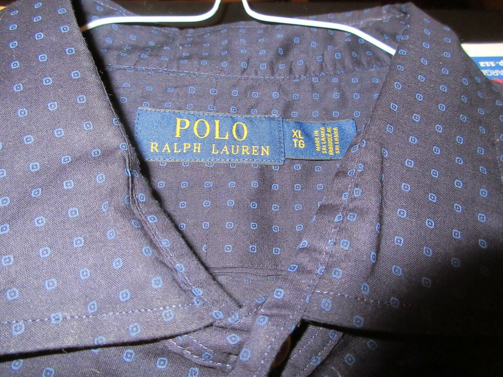 POLO Ralph Lauren , Men's Long Sleeve Shirt , XL/TG , 1