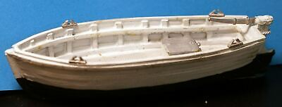 OO Scale 1:76 UNPAINTED Kit F5g RESIN 52ft Holiday Narrow Boat steel Hull