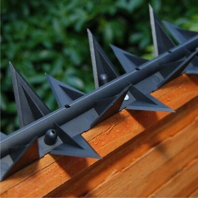 Stegastrip Saver Pack 5 Meters Rotating wall spikes fence security cat detterent