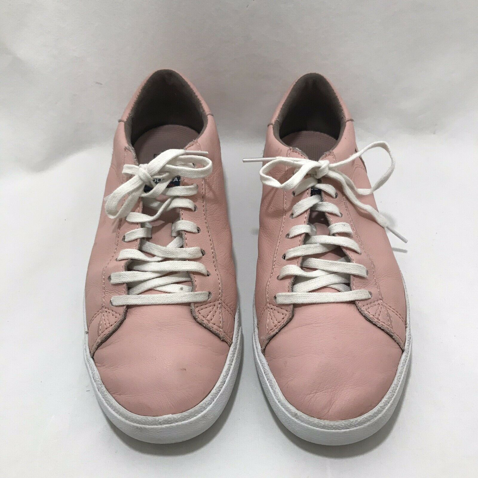 Cole Hann Pink Leather Tennis shoes Size 7B Lace Up