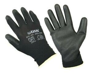 10x Ulith Arbeitshandschuhe Montage Feinstrick Handschuhe Gartenhandschuhe 9/L