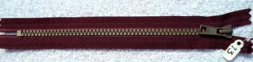 3 YKK Vislon cerniere di alta qualità 8 pollici Indigo Vino da cucire SACCHI cuscini Crafts