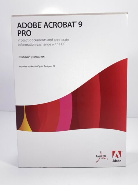Adobe Acrobat Xi Pro Student And Teacher Edition For Sale