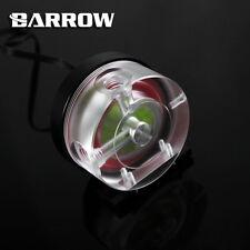 Barrow PWM Controllo Velocità 10w Pompa Acqua Acrilico COVER CUSTODIA IN ALLUMINIO NERO