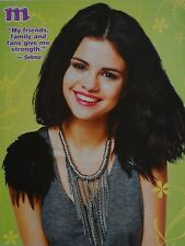 SELENA GOMEZ - A4 Poster (ca. 20 x 27 cm) - Fan Sammlung Clippings Ausland USA